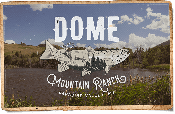 Dome Mountain Ranch Post Card